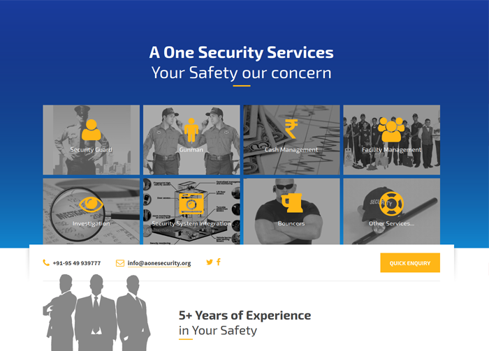 aonesecurity.org | By iGlobe Solutions